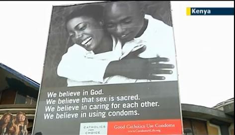 Kenya condom ads