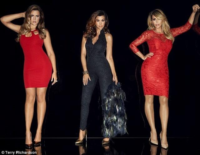 Terry Richardsons UK Kardashian Kollection Campaign