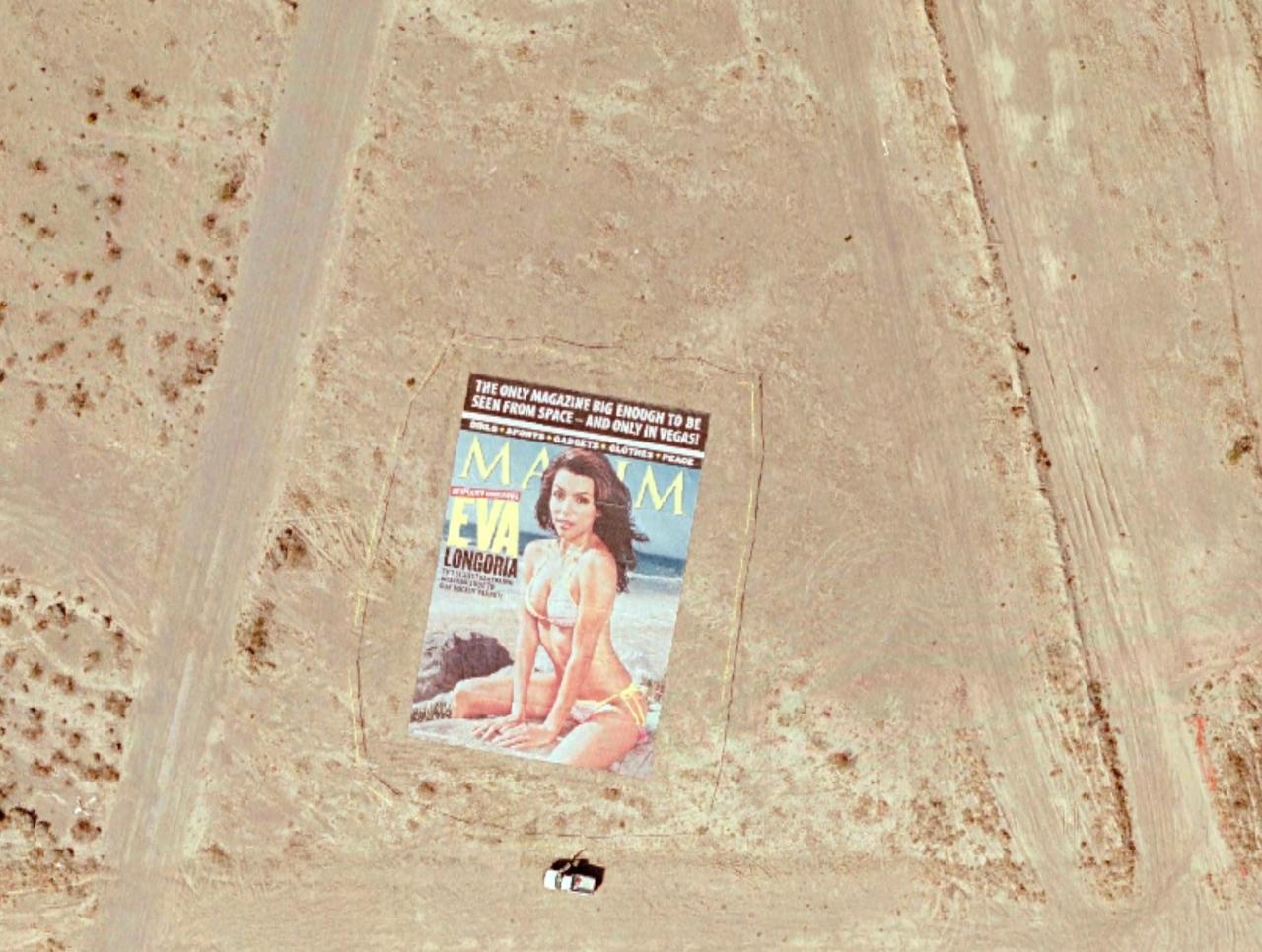 Giant Eva Longoria Maxim Cover