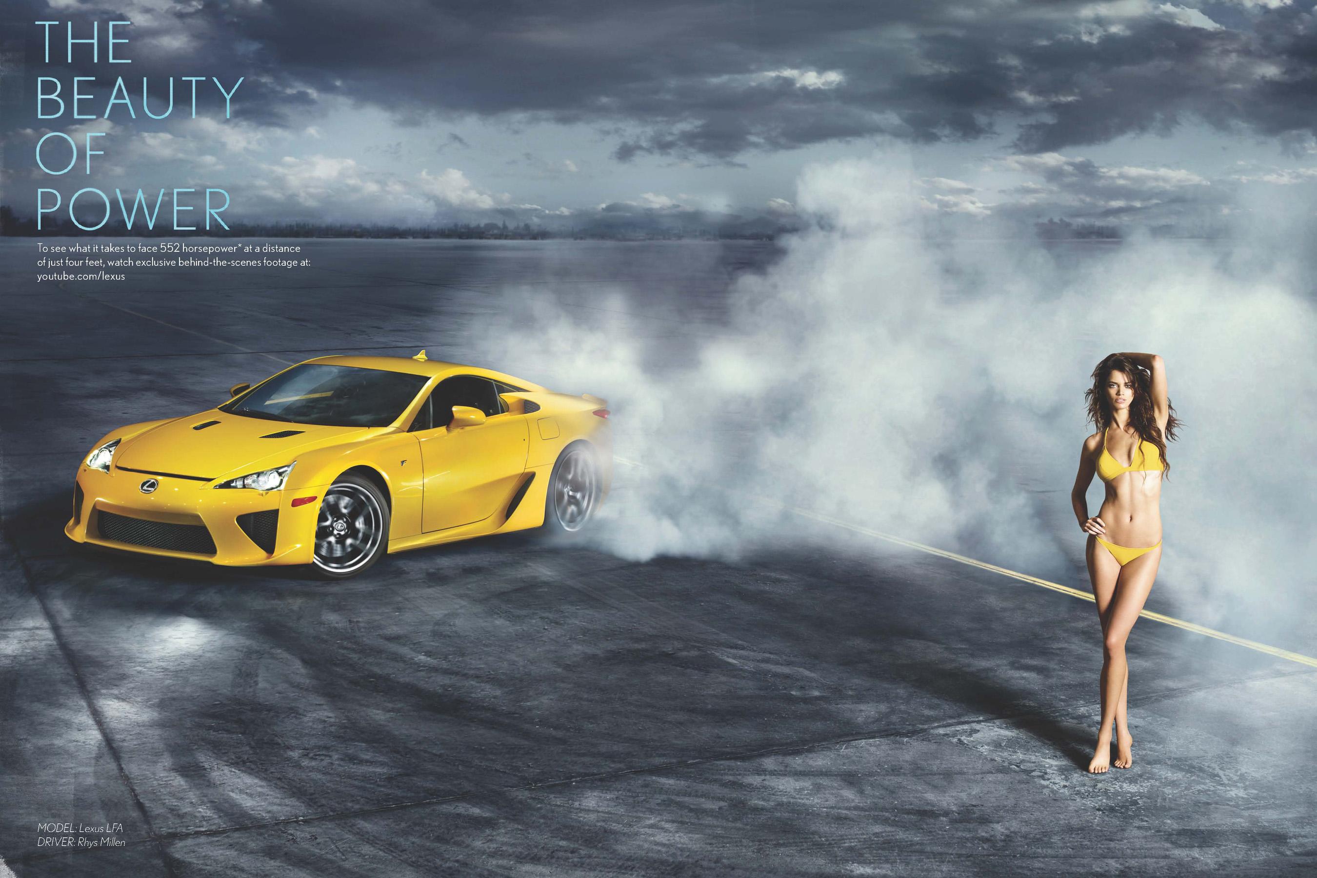 Supermodel + Supercar = SI