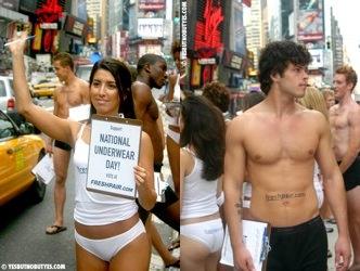 National no underwear day